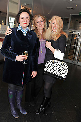 Left to right, SELINA BLOW, MARY-CLARE AGNEW and KATY BRAIN at a ladies lunch in support of Maggie's Barts hosted by Judy Naake, Clara Weatherall and Caroline Collins at Le Cafe Anglais, 8 Porchester Gardens, London W2 on 19th March 2013.