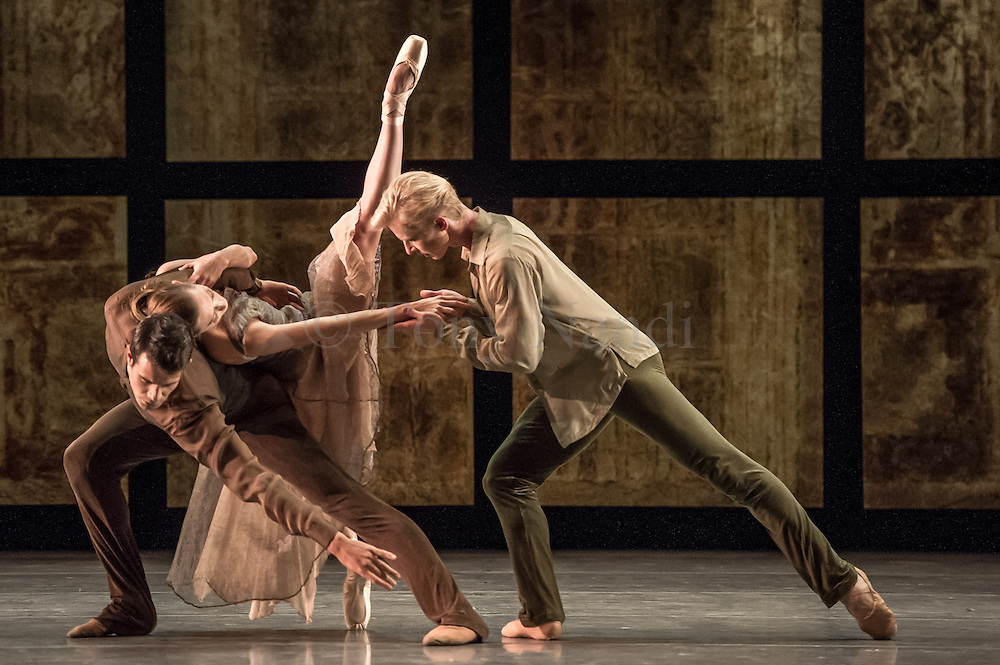 Trio, choreographed by Helgi Tomasson and part of San Francisco Ballet's much anticipated season at Sadler's Wells, London, Autumn 2012.