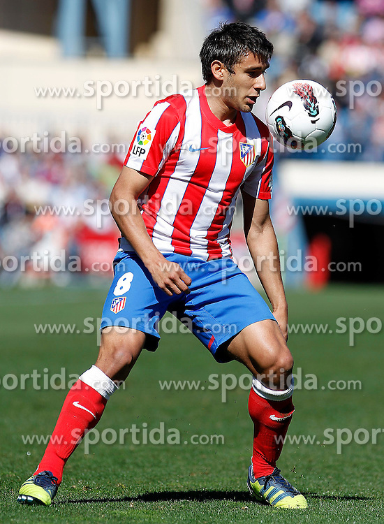 11.03.2012, Vicente Calderon Stadion, Madrid, ESP, Primera Division, Atletico Madrid vs FC Granada, 27. Spieltag, im Bild Atletico de Madrid's Eduardo Salvio // during La Liga match.March 11,2012 during the football match of spanish 'primera divison' league, 27th round, between Atletico Madrid and FC Granada at Vicente Calderon stadium, Madrid, Spain on 2012/03/11. EXPA Pictures © 2012, PhotoCredit: EXPA/ Alterphotos/ Acero..***** ATTENTION - OUT OF ESP and SUI *****