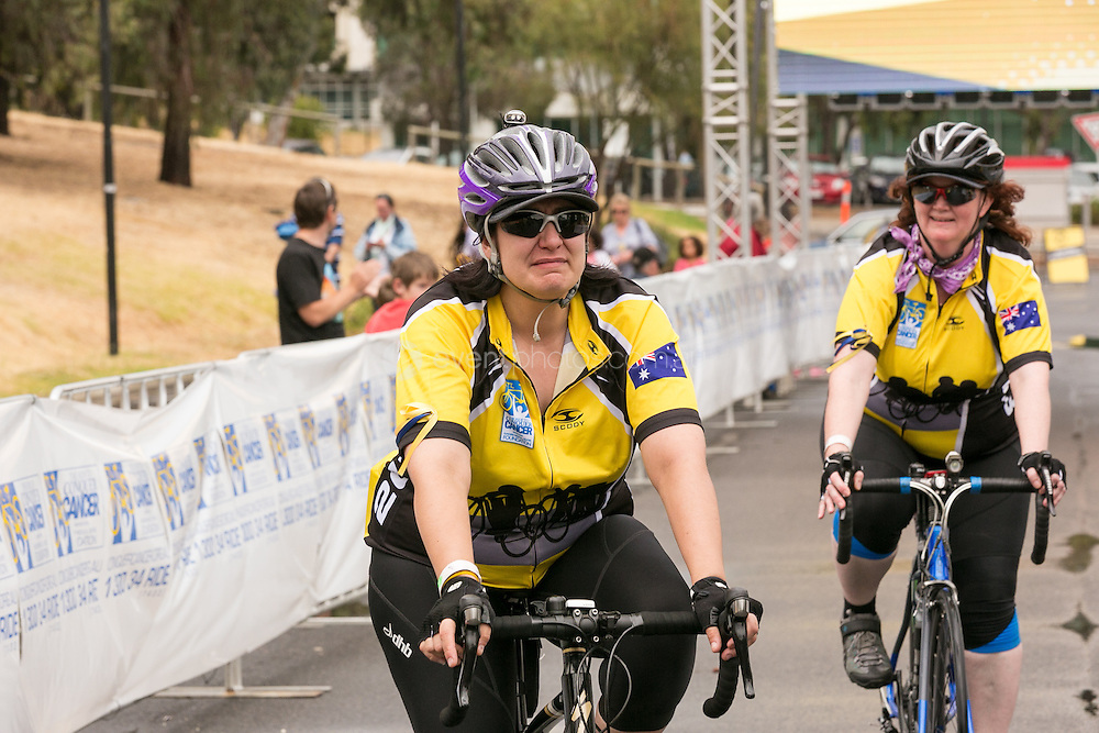 Adelaide Ride to Conquer Cancer 2013. Day 2. Adelaide. South Australia. Photo By Pat Brunet/Event Photos Australia