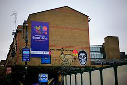 UK ENGLAND LONDON 4NOV12 - Street art and graffiti near Brick Lane and Shoreditch in London's trendy east end.....jre/Photo by Jiri Rezac....© Jiri Rezac 2012