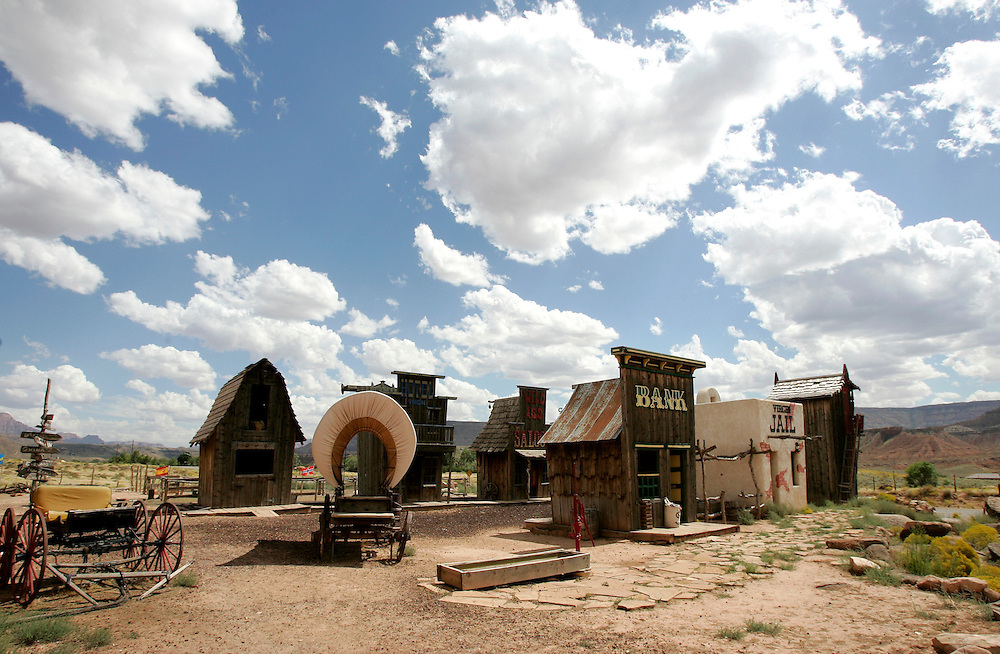 US-NEVADA: A fake town..PHOTO GERRIT DE HEUS