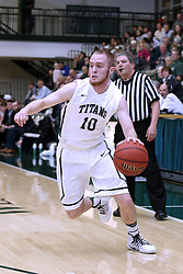 07 January 2017:  Nick Coleman during an NCAA men's division 3 CCIW basketball game between the Wheaton Thunder and the Illinois Wesleyan Titans in Shirk Center, Bloomington IL