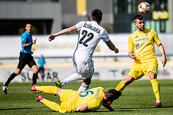 Marko Cubrilo of NK Domzale during Football match between NK Domzale and NS Mura in 30th Round of Prva liga Telekom Slovenije 2018/19, on May 1st, 2019, in Sports park Domzale, Slovenia. Photo by Grega Valancic / Sportida