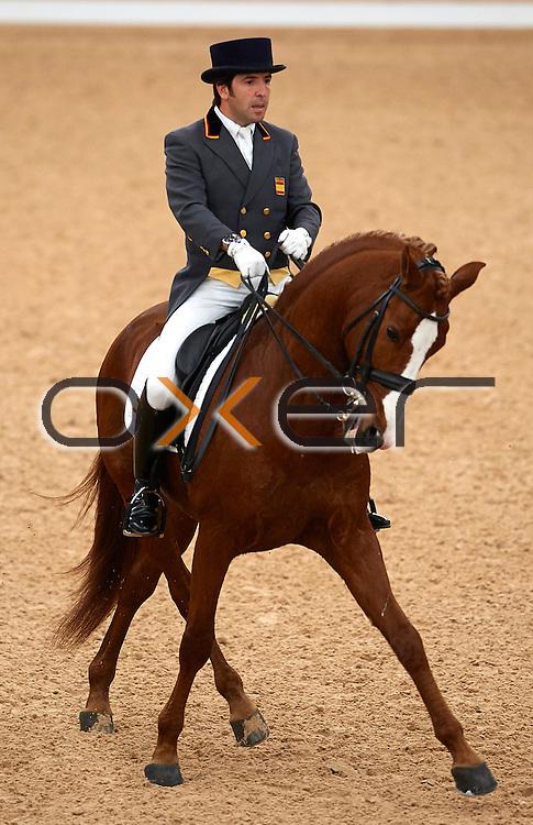 MADRID, SPAIN - NOVEMBER 29: Madrid Horse Week 2015 at IFEMA on November 29, 2015 in Madrid, Spain. (Photo by Manuel Queimadelos / Oxer Sport)