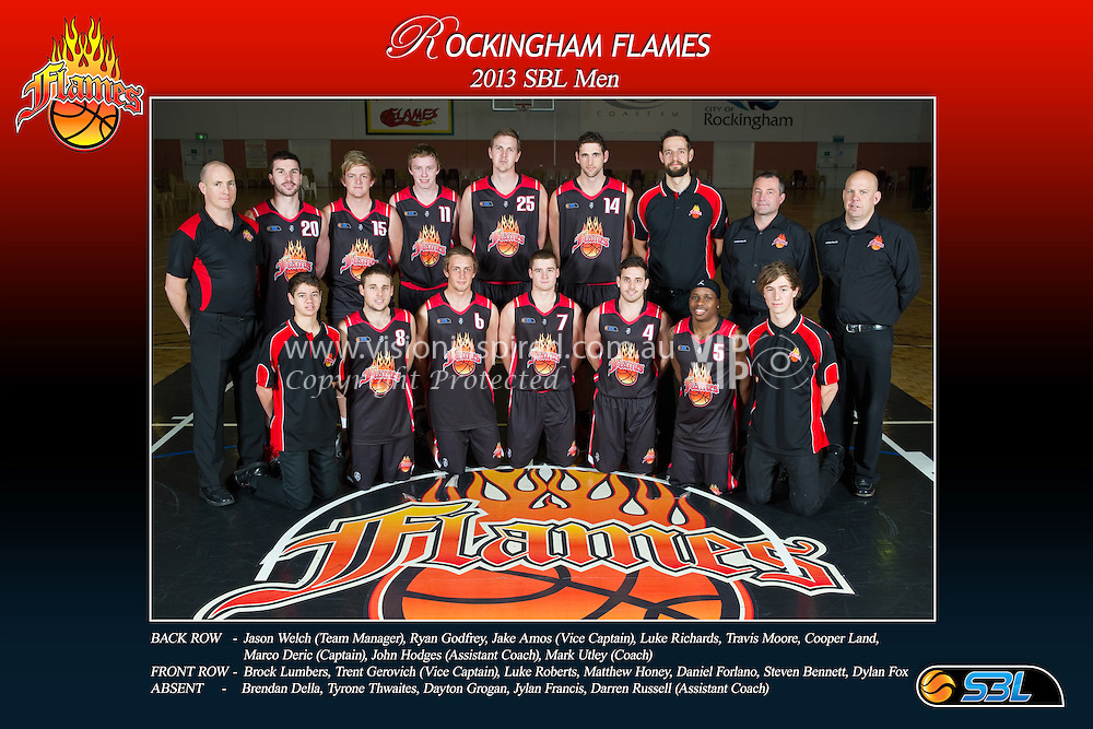 2013 Rockingham Flames Mens SBL Team | Vision Inspired Photography ...