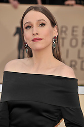 Sarah Sutherland arrives at the 24th annual Screen Actors Guild Awards at The Shrine Exposition Center on January 21, 2018 in Los Angeles, California. <br />