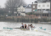 Varsity Boat Race, Rowing Course: River Thames, Championship course, Putney to Mortlake 4.25 Miles,