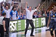 Federico Pasquini<br /> Dolomiti Energia Aquila Basket Trento - Banco di Sardegna Dinamo Sassari<br /> Lega Basket Serie A 2016/2017<br /> Trento, 08/04/2017<br /> Foto Ciamillo - Castoria