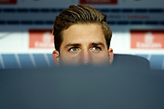 Paris Saint Germain's German goalkeeper Kevin Trapp looks on during the French championship L1 football match between Paris Saint-Germain (PSG) and Saint-Etienne (ASSE), on August 25, 2017 at the Parc des Princes in Paris, France - Photo Benjamin Cremel / ProSportsImages / DPPI