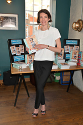 THOMASINA MIERS at the launch of Thomasina Miers's new book Chilli Notes held at Wahaca, 19-23 Charlotte Street, London W1 on 6th May 2014.