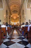 Mass at the San Juan Cathedral