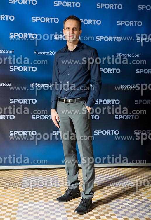 Dragan Perendija at Sports marketing and sponsorship conference Sporto 2016, on November 18, 2016 in Hotel Slovenija, Congress centre, Portoroz / Portorose, Slovenia. Photo by Vid Ponikvar / Sportida