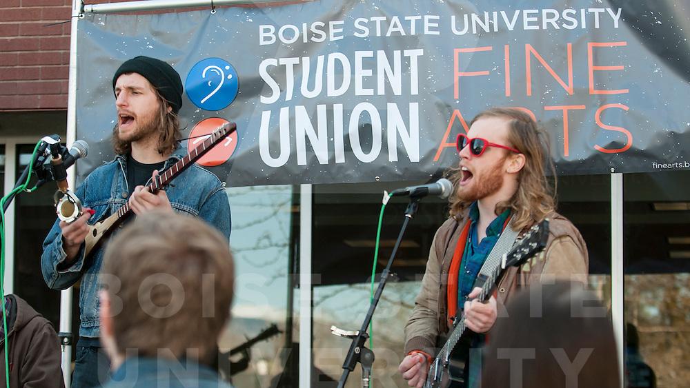 Treefort, Kick Off Concert, Student Union, Saintseneca, Alternative Band, Ashley Alexander Photo