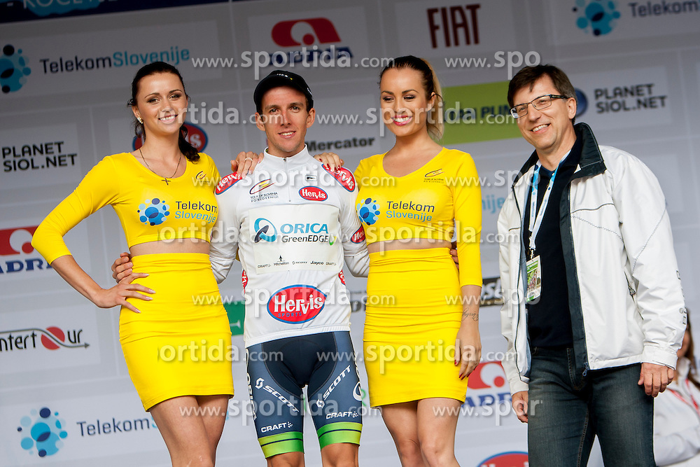 Simon Yates of Orica-GreenEdge after Stage 2 from Ribnica to Kocevje (160,7 km) of cycling race 21st Tour of Slovenia, on June 20, 2014 in Slovenia. Photo By Urban Urbanc / Sportida
