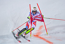 19.02.2019, Stockholm, SWE, FIS Weltcup Ski Alpin, Parallelslalom, Herren, im Bild Ramon Zenhaeusern (SUI) // Ramon Zenhaeusern of Switzerland in action during the men's parallel slalom of FIS ski alpine world cup at the Stockholm, Sweden on 2019/02/19. EXPA Pictures © 2019, PhotoCredit: EXPA/ Nisse Schmidt<br /> <br /> *****ATTENTION - OUT of SWE*****