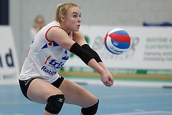 20190112 NED: Sliedrecht Sport - VC Sneek: Sliedrecht<br />Janieke Popma (2) of VC Sneek<br />©2019-FotoHoogendoorn.nl / Pim Waslander