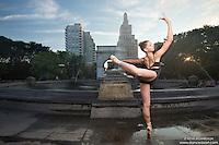 Dance As Art Photography Project- Washington Square Park New York City featuring dancer, Laura Siegel