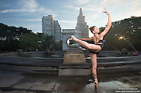 Dance As Art Photography Project- Washington Square Park New York City featuring dancer, Laura Siegel