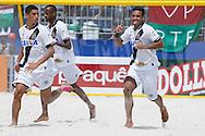 Vasco da Gama players celebrate a goal against Fluminense at the Mundialito de Clubes 2015 - Foto: Marcello Zambrana/Divulgação