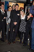 MELTEM HEVD AND BRUNO BERNER, The launch of Your Game 2008. Swiss Ambassador's Residence car park. Bryanston Sq. London. W1. 28 February 2008.  *** Local Caption *** -DO NOT ARCHIVE-© Copyright Photograph by Dafydd Jones. 248 Clapham Rd. London SW9 0PZ. Tel 0207 820 0771. www.dafjones.com.