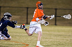 The #2 ranked Virginia Cavaliers defeated the Mt. Saint Mary's Mount 10-2 at the University of Virginia's Klockner Stadium in Charlottesville, VA on February 24, 2009.  (Special to the Daily Progress / Jason O. Watson)