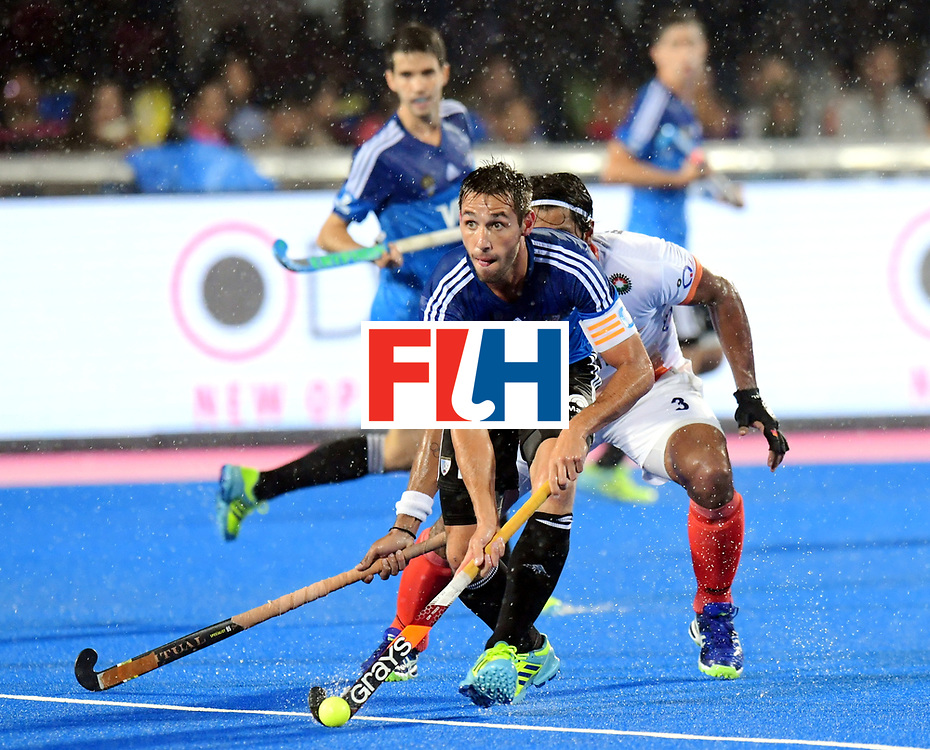 Odisha Men's Hockey World League Final Bhubaneswar 2017<br /> Match id:19<br /> India v Argentina<br /> Foto: Matias Paredes (Arg) <br /> COPYRIGHT WORLDSPORTPICS FRANK UIJLENBROEK