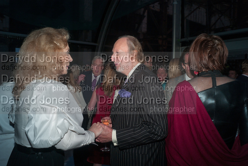 PRINCESS MICHAEL OF KENT; ED VICTOR, CARTIER CHELSEA FLOWER SHOW DINNER Dinner hosted by Cartier in celebration of the Chelsea Flower Show was held at Battersea Power Station. 22 May 2012