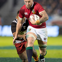 Ross Moriarty, Toll Stadium, Whangarei game 1 of the British and Irish Lions 2017 Tour of New Zealand,The match between Provincial Union Team and British and Irish Lions,Saturday 3rd June 2017   <br /> <br /> (Photo by Kevin Booth Steve Haag Sports)<br /> <br /> Images for social media must have consent from Steve Haag