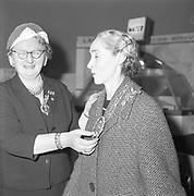 Kit Ahern (right)<br /> <br /> 11th April 1961