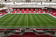 General view of Ashton Gate before the EFL Sky Bet Championship match between Bristol City and Burton Albion at Ashton Gate, Bristol, England on 13 October 2017. Photo by Richard Holmes.