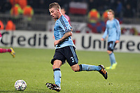FOOTBALL - UEFA CHAMPIONS LEAGUE 2011/2012 - GROUP STAGE - GROUP D - OLYMPIQUE LYONNAIS v AJAX AMSTERDAM - 22/11/2011 - PHOTO EDDY LEMAISTRE / DPPI - TOBY ALDERWEIRELD (AJAX)