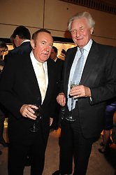 Left to right, ANDREW NEIL and LORD HESELTINE at a Christmas party hosted by The Business and Alisa Moussaieff held at the Moussaieff showrooms, 172 New Bond Street, London on 5th December 2007.<br /><br />NON EXCLUSIVE - WORLD RIGHTS