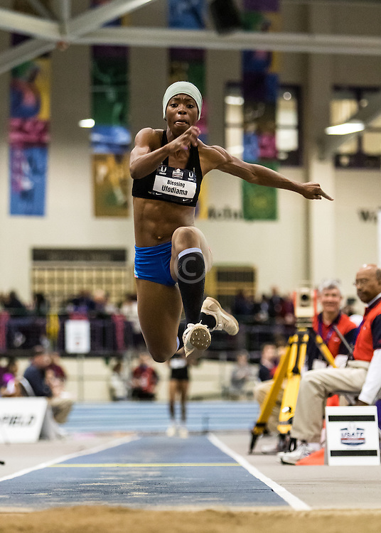 USATF Indoor Track & Field Championships: womens triple jump, Blessing Ufodiama