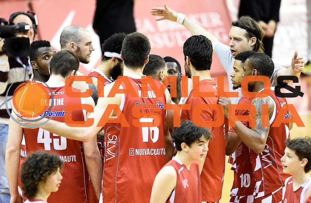 The Flexx Pistoia Basket<br /> Grissin Bon Pallacanestro Reggio Emilia - The Flexx Pistoia Basket<br /> Lega Basket Serie A 2016/2017<br /> Reggio Emilia, 30/04/2017<br /> Foto A.Giberti / Ciamillo - Castoria