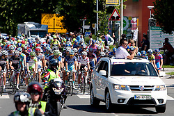 Offical start during 3rd Stage (219 km) at 19th Tour de Slovenie 2012, on June 16, 2012, in Ivancna Gorica, Slovenia. (Photo by Urban Urbanc / Sportida.com)