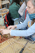 straw mat weaving