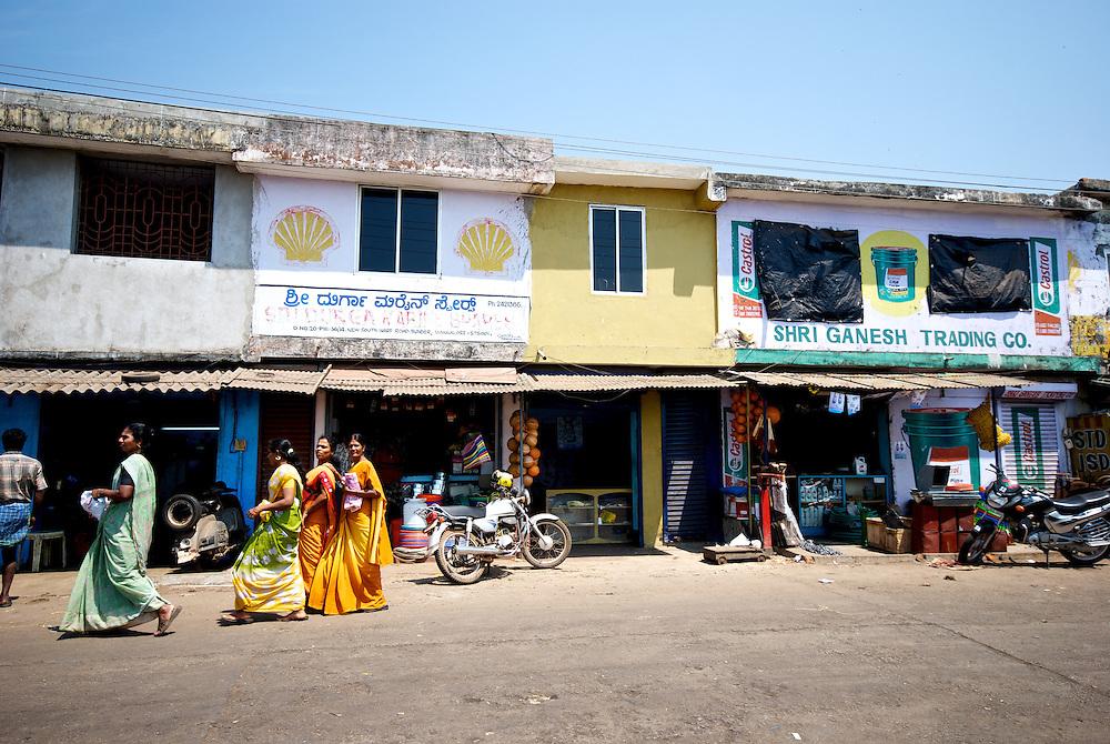 Mangalore fish market, India