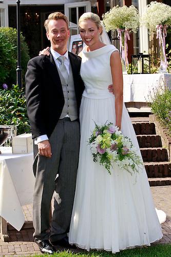 Foto trouwjurk renate verbaan