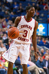 Taylor County hosted Hopkinsville in game two of the 2015 KHSAA Boy's Sweet 16 Tournament, Wednesday, March 18, 2015 at Rupp Arena in Lexington. Photo by Jonathan Palmer