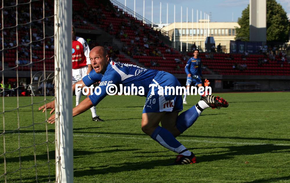05.08.2006, Ratina, Tampere, Finland..Veikkausliiga 2006 - Finnish League 2006.Tampere United - Myllykosken Pallo-47.Ville Lehtinen - TamU.©Juha Tamminen.....ARK:k