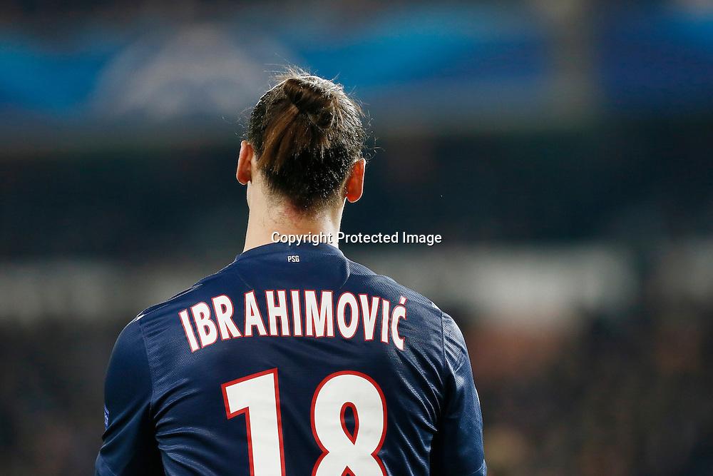 FOOTBALL - CHAMPIONS LEAGUE 2012/2013 PSG VS ZAGREB - 06/11/2012 - ZLATAN IBRAHIMOVIC (PARIS SAINT-GERMAIN)