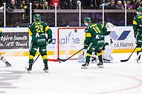 2020-03-10   Umeå, Sverige: Modo (6) Mattias Norlinder kvitterar till 3-3 under matchen i HA Finalserien mellan Björklöven och MoDo i A3 Arena ( Foto av: Michael Lundström   Swe Press Photo )<br /> <br /> Nyckelord: Umeå, Hockey, HA Finalserien, A3 Arena, Björklöven, MoDo, mlbm200310