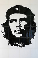 Image of Ernesto Che Guevara in Santa Cruz del Norte, Mayabeque, Cuba.