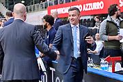DESCRIZIONE : Trento Beko All Star Game 2016<br /> GIOCATORE : Massimiliano Menetti Gianluca Calbucci<br /> CATEGORIA : Fair Play Before Pregame Arbitro Referee<br /> SQUADRA : AIAP<br /> EVENTO : Beko All Star Game 2016<br /> GARA : Beko All Star Game 2016<br /> DATA : 10/01/2016<br /> SPORT : Pallacanestro <br /> AUTORE : Agenzia Ciamillo-Castoria/L.Canu