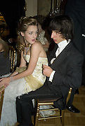 MARIE-SOLENE D'HARCOURT AND OSWALDO NICOLETTI, Crillon Debutante Ball 2007,  Crillon Hotel Paris. 24 November 2007. -DO NOT ARCHIVE-© Copyright Photograph by Dafydd Jones. 248 Clapham Rd. London SW9 0PZ. Tel 0207 820 0771. www.dafjones.com.