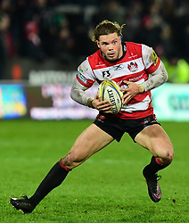 Henry Purdy of Gloucester Rugby in action  - Mandatory by-line: Alex Davidson/JMP - 02/12/2017 - RUGBY - Kingsholm - Gloucester, England - Gloucester Rugby v London Irish - Aviva Premiership