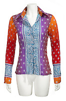 bright tie died long sleeved shirt