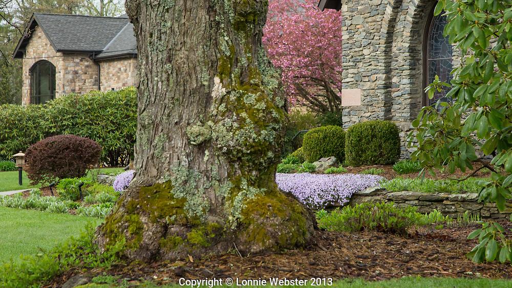 Rumple Memorial Presbyterian Blowing Rock, NC in the Spring