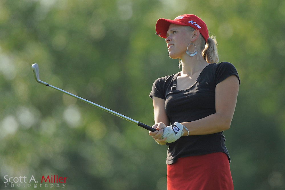 Sarah Brown during the second round of the LPGA Futures Tour's Daytona Beach Invitational at LPGA International's Championship Course on April 2, 2011 in Daytona Beach, Florida... ©2011 Scott A. Miller